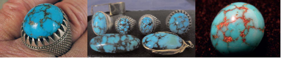 Persian turquoise is synonymous with the finest quality.